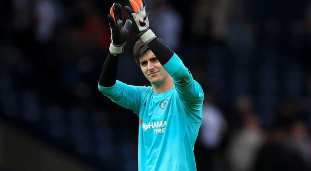 Goalkeeper Thibaut Courtois felt West Brom tried to