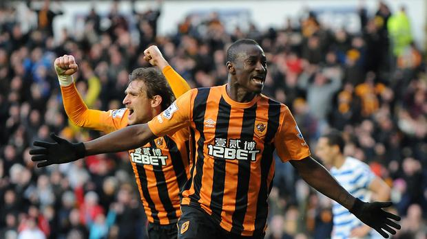 Dame N'Doye scored five goals in 15 games for Hull last season