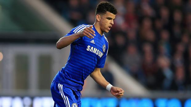Chelsea's Dominic Solanke is on a season-long loan at Vitesse Arnhem