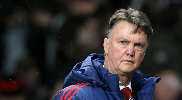 Manchester United manager Louis van Gaal has defended his defensive tactics