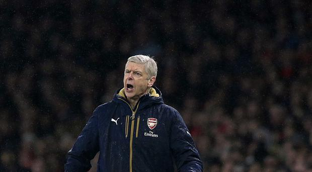 Arsene Wenger has only ever guided Arsenal to one league win at Stoke