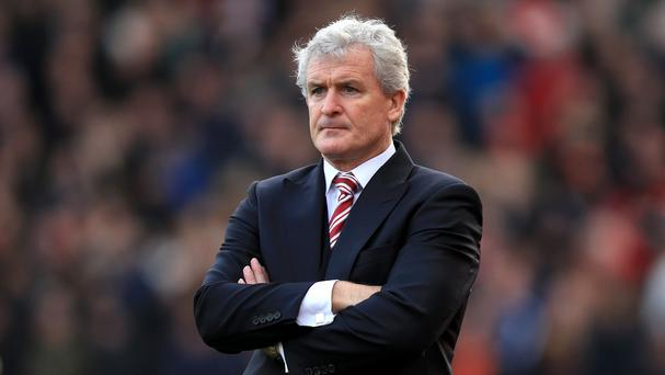 Mark Hughes and Stoke have enjoyed plenty of success against Arsenal