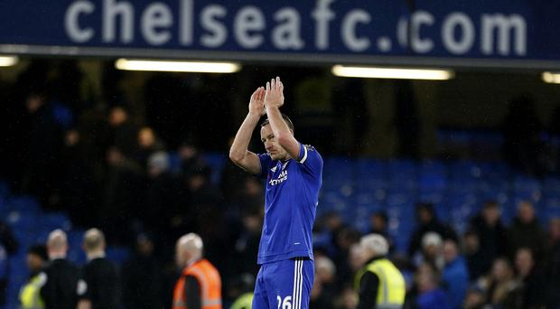 John Terry knew Chelsea would be given additional time to find an equaliser against Everton