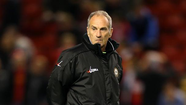 Francesco Guidolin left his role with Udinese in May 2014