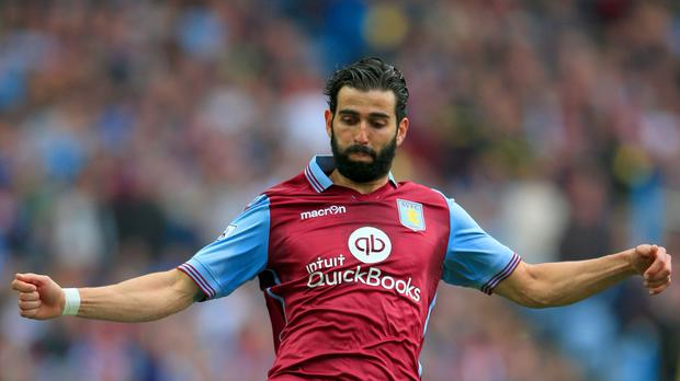Jose Angel Crespo has left Aston Villa on a loan deal