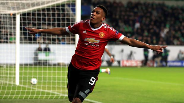 Manchester United flyer Anthony Martial is as quick as anybody in the Premier League