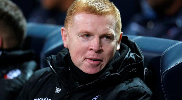 Tough times: Neil Lennon's Bolton face financial crisis