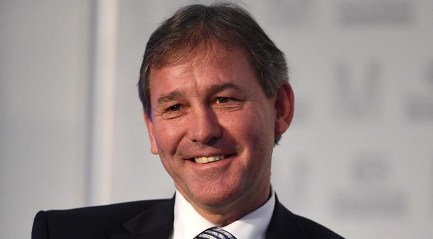 Bryan Robson, pictured, is confident Louis van Gaal can steer his former club Manchester United to success