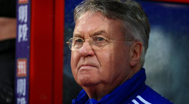 Chelsea interim manager Guus Hiddink says Eden Hazard and Diego Costa are on their way back after injury.