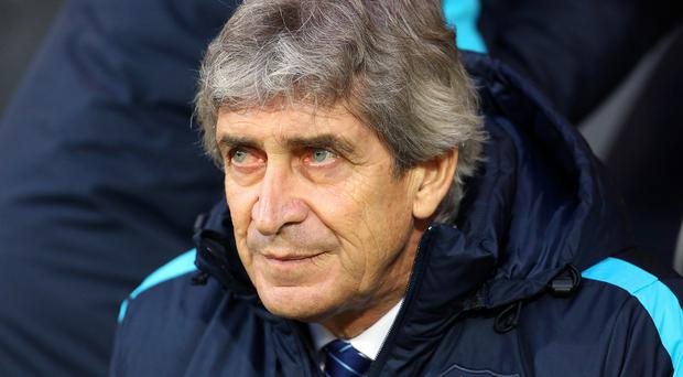 Manuel Pellegrini's Manchester City are currently a point off the top of the Barclays Premier League.