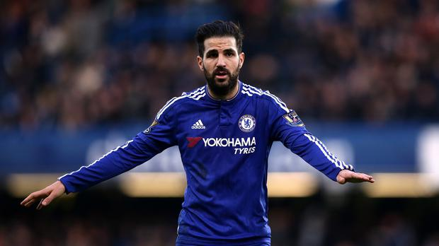 A Chelsea steward has been filed for labelling Cesc Fabregas, pictured, a