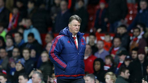 Louis van Gaal felt the ire of the Manchester United fans on Saturday
