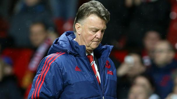 The pressure mounted on Louis van Gaal after another dull Manchester United performance