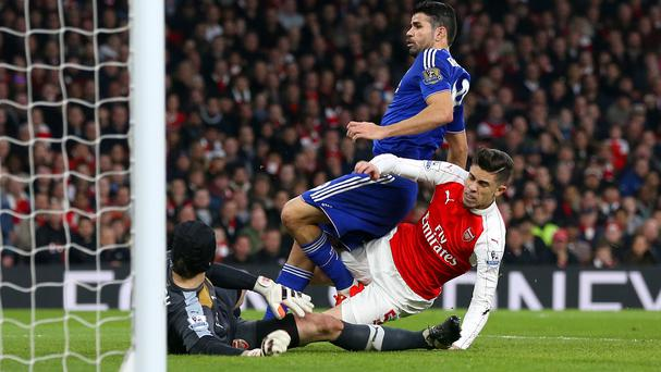 Diego Costa scored the goal which helped Chelsea do the double over Arsenal