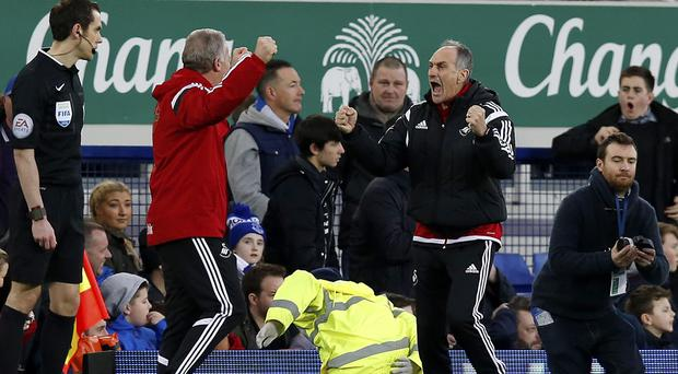 Francesco Guidolin, right, is waiting to find out whether he will get January reinforcements
