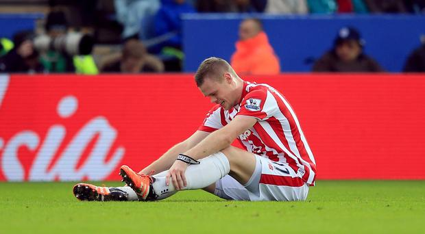 Ryan Shawcross is facing three to four weeks out
