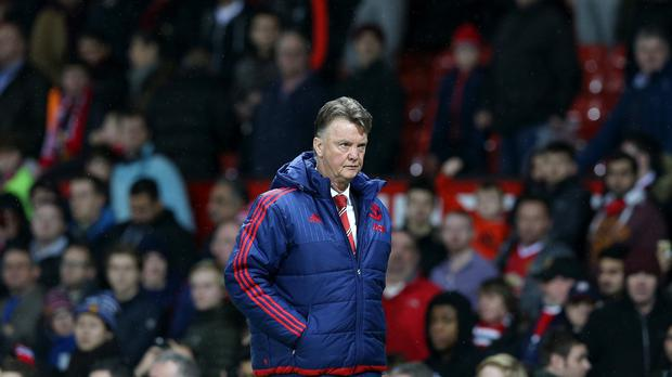 Manchester United manager Louis van Gaal faces an uncertain future at Old Trafford
