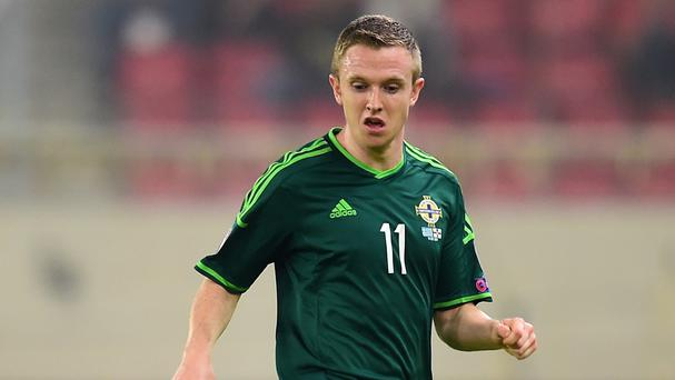 Shane Ferguson helped Northern Ireland qualify for Euro 2016