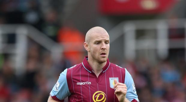 Defender Philippe Senderos has parted company with Aston Villa.