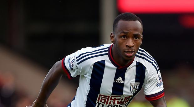 Saido Berahino has scored four goals in 19 games for West Brom this season