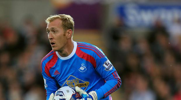 Swansea goalkeeper Gerhard Tremmel has joined Werder Bremen on loan until the end of the season.