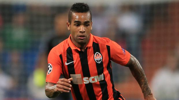 Liverpool target Alex Teixeira has been valued at £53million by Shakhtar Donetsk