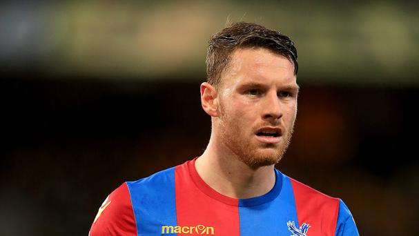 Crystal Palace's Connor Wickham will begin his three-match ban immediately