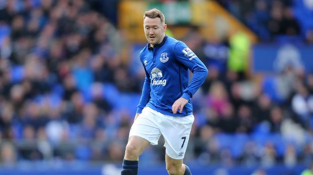 Aiden McGeady, pictured, is 'very close' to leaving Everton on loan, according to Roberto Martinez