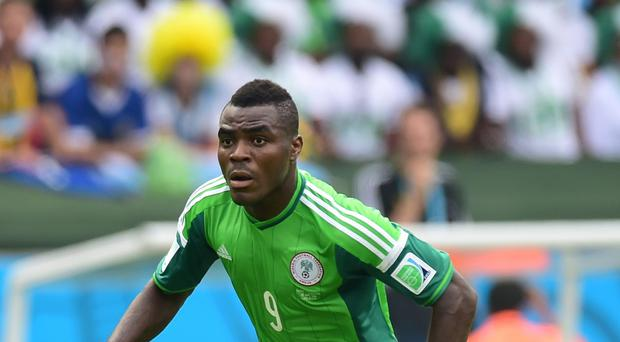 Nigeria forward Emmanuel Emenike has joined West Ham on loan
