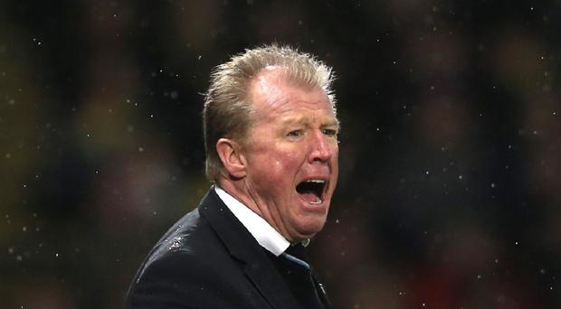 Newcastle head coach Steve McClaren is hope for a deadline day transfer breakthrough