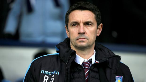 Aston Villa boss Remi Garde is yet to make a signing as manager