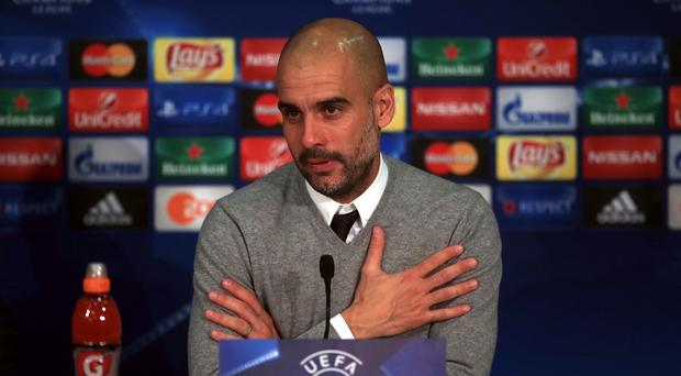 Pep Guardiola will take over duties at Manchester City next season