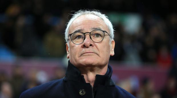 Leicester manager Claudio Ranieri is looking for a striker