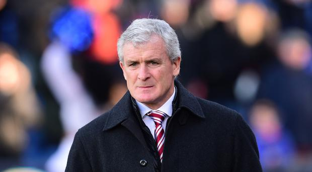 Stoke manager Mark Hughes is looking to break the club's transfer record for the second time in five months