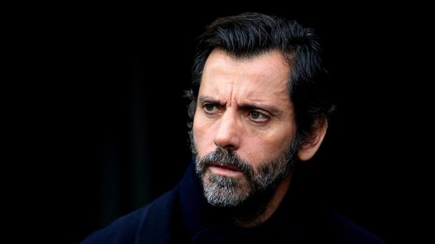 Watford boss Quique Sanchez Flores, pictured, has signed Abdoulaye Doucoure