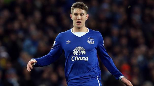 Everton manager Roberto Martinez has backed John Stones, pictured, to bounce back