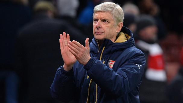 Arsenal manager Arsene Wenger endured a frustrating evening against Southampton