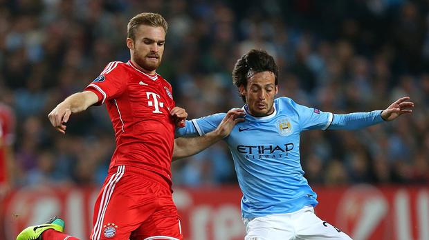 Former Bayern Munich player Jan Kirchhoff (left) is confident new club Sunderland can stave off relegation