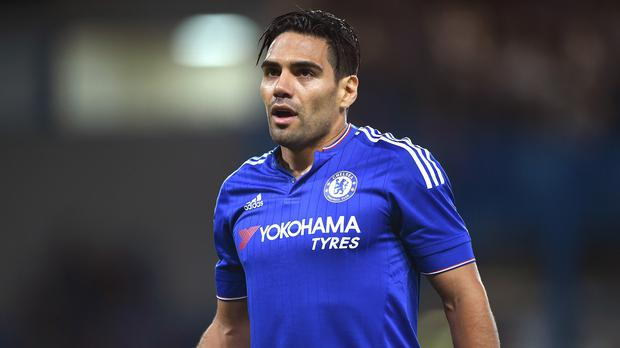 Striker Radamel Falcao has been omitted from Chelsea's Champions League squad