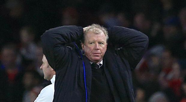 Newcastle head coach Steve McClaren reflected on a wasted opportunity at Everton.