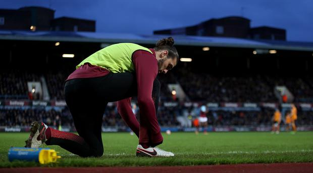 Andy Carroll is nearing a return to action for West Ham