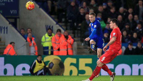 Jamie Vardy's stunning strike against Liverpool enhanced his reputation further