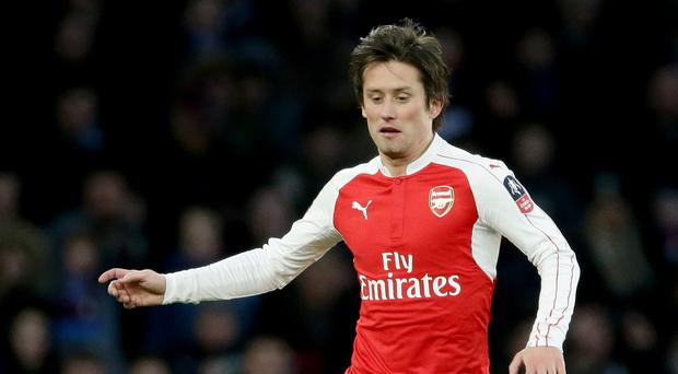 Tomas Rosicky may have played his last game for Arsenal