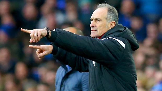 Swansea head coach Francesco Guidolin is set for a reunion with his former Monaco striker Emmanuel Adebayor in their home game with Crystal Palace.