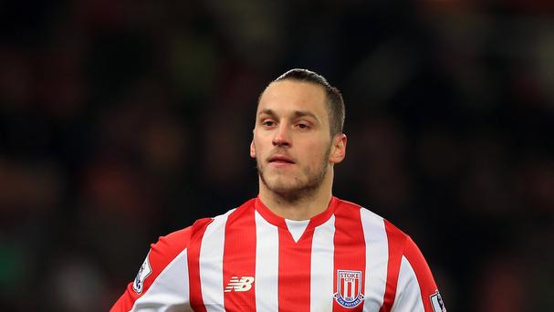 Marko Arnautovic has scored eight goals for Stoke this season.