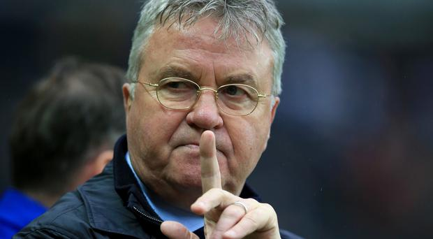 Guus Hiddink, pictured, says all managers at top clubs can expect to feel pressure