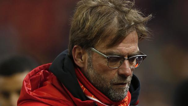Liverpool manager Jurgen Klopp will miss the match at home to Sunderland with a suspected bout of appendicitis