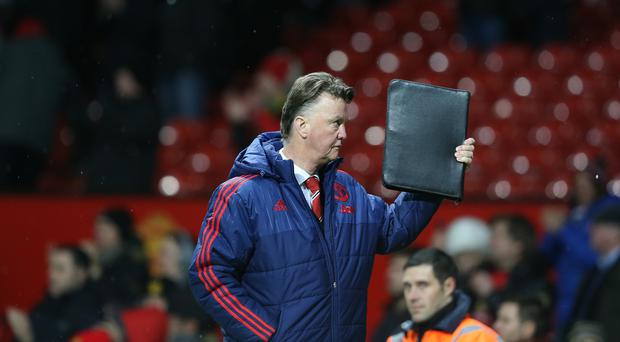 Louis van Gaal remains a man under pressure at Manchester United