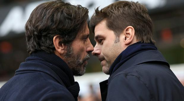 Mauricio Pochettino's Tottenham moved up to second in the Premier League table after a 1-0 win over Watford