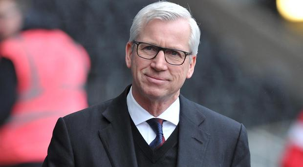 Manager Alan Pardew was relieved that his Crystal Palace side ended their five-match losing streak in the league with a 1-1 draw at Swansea